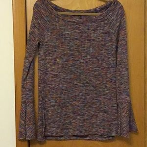 Anthropologie Spacedye Knit Top